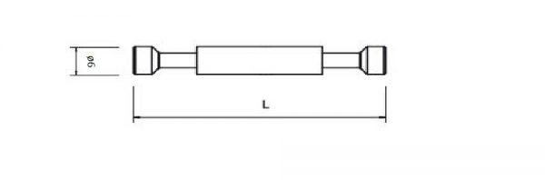 Doppelbolzen für Exzenter ø18