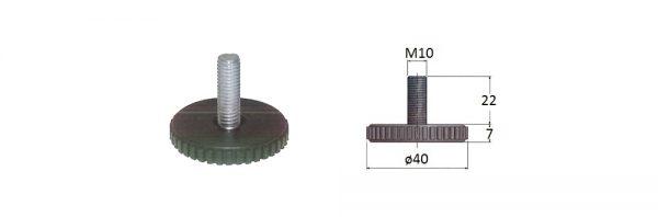 Hochstellschraube M10