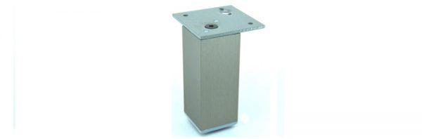Möbelfuß Formrohr 40x40 mm / bündig