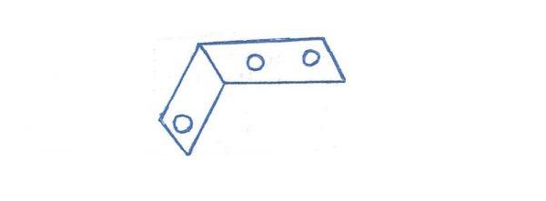 Winkel 55x35x20 mm