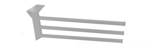 Handtuchhalter 3-armig / 430 mm