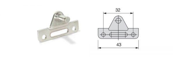 Adapter für ALU-Rahmen