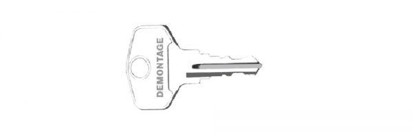 Demontageschlüssel