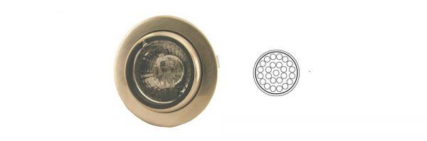 LED Einbauleuchte schwenkbar/ 12V 1,2W