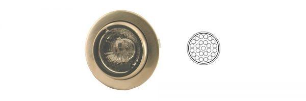 LED Einbauleuchte schwenkbar/ 12V 2,4W