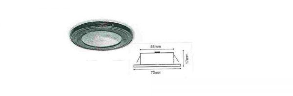 LED Einbauleuchte 12V / 350mA