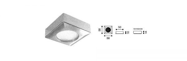 LED Einbauleuchte / 12V / 350mA