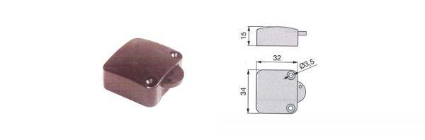 Möbel-Tastschalter 1-polig / 230V
