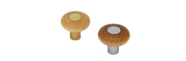 Holzknopf für Einlage Nr.5103 / Sockel Nr.5105