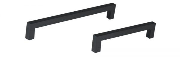 Vierkantgriff / schwarz RAL 9005 matt