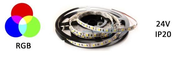 LED Strip Flex 24V IP20 RGB