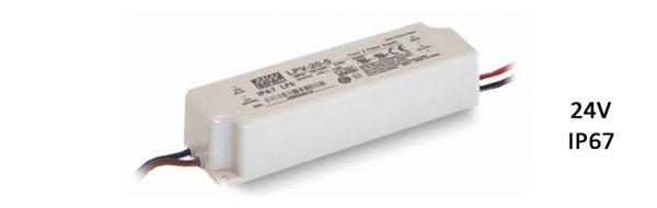 LED Netzgerät / IP67 / 230V/24V