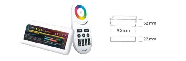 4-Kanalsteuerung für LED Strip RGBW 12V/24V