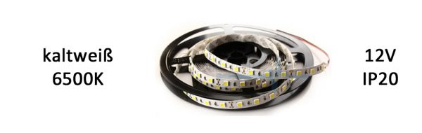 LED Strip Premium IP20 kaltweiß / 6 W/m