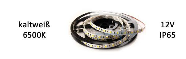 LED Strip Premium IP65 kaltweiß / 9,6 W/m