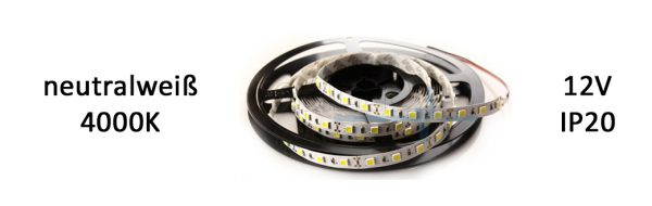 LED Strip Premium IP20 neutralweiß / 6 W/m
