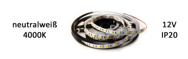 LED Strip Premium IP20 neutralweiß / 19,2 W/m