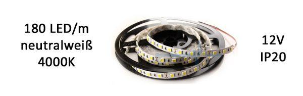 LED Strip IP20 neutralweiß / LED Abstand 6 mm